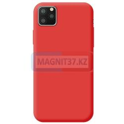 Чехол задник для iPhone 11 гелевый цветной