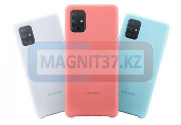 Чехол задник для Samsung A71 Silicone Case