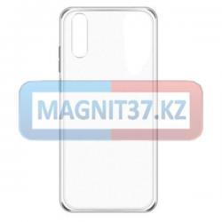 Чехол задник для Samsung А21S гель прозрачный