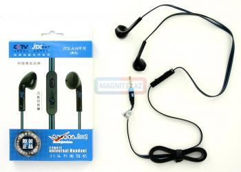 Наушники JTX-A10 не вакуумные с микрофоном
