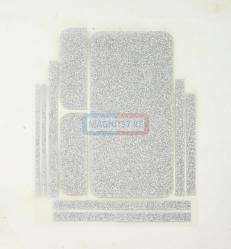 Защитная пленка для Samsung A710 блестки