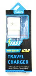 СЗУ  microUSB  Travel charger 2в1