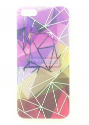 Чехол задник для iPhone 5 гель узор