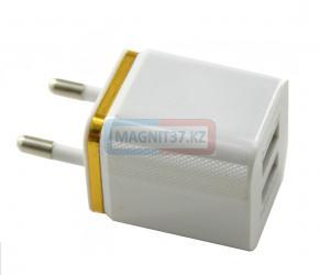 СЗУ  2 выхода USB  2А c оконтовкой