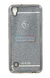Чехол задник для LG К200 гель с блеском