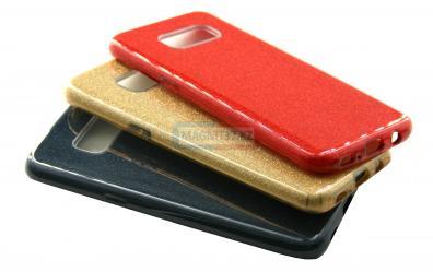 Чехол задник для Samsung S8 гель блеск (сияние)