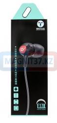 Наушники TZY E178 вакуумные с микрофоном