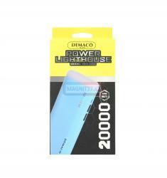 Зарядное Power Bank Demaco 20000 mAh