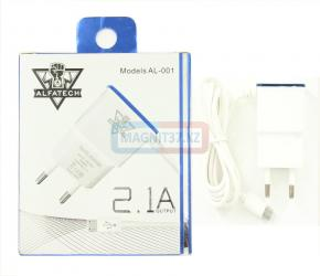 СЗУ microUSB KTN-001-002 (KTN, Alfa-Tech) 2.1A
