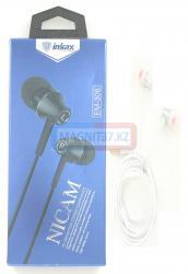 Наушники inkax EM-306 вакуумные с микрофоном