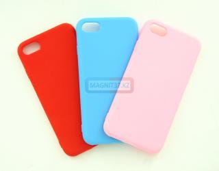 Чехол задник для iPhone 6 гель цветной