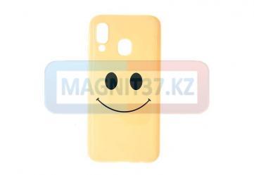 Чехол задник для iPhone 7 гель смайлик