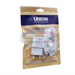 СЗУ microUSB Union UN-137 2,1а 2в1