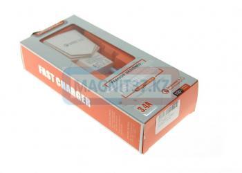СЗУ microUSBFast Charger Fast-BC6 2.4A 2в1