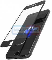 Защитное стекло 21D/111D для iPhone 7+/8+ черное
