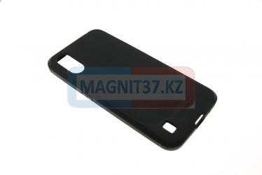 Чехол задник для Xiaomi Redmi Note 9 черный матовый