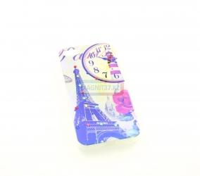 Чехол задник для iPhone 5 гель стразы