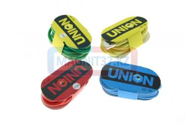 Кабель microUSB резиновый Union UC-18