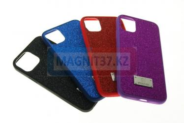 Чехол задник пластик Swarovski для iPhone 12