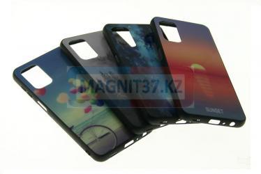 Чехол задник пластик с принтами для Realme 7