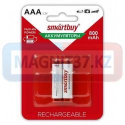 Аккумулятор ААА Smartbuy 800mAh