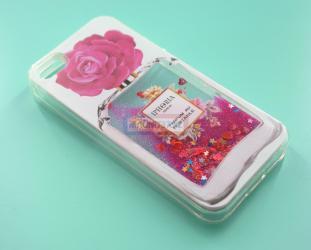 Чехол задник для iPhone 5 гель аквариум