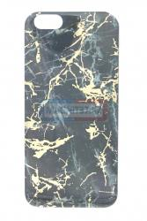 Чехол задник для iPhone 5  гель мрамор
