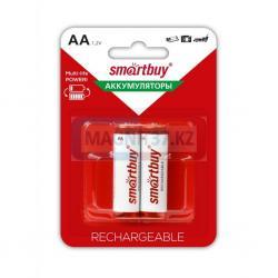 Аккумулятор АА  Smartbuy 1000mAh блистер 2шт. 2A02BL1000