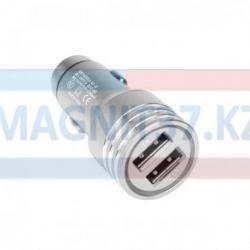 АЗУ  2 выхода USB  3.1А металл КО-22