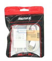 СЗУ microUSB Remax 2 в 1 (пакетик)