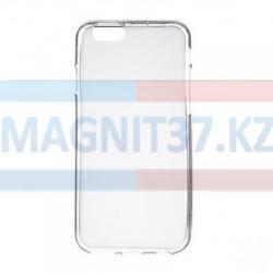 Чехол задник для iPhone 6 гель прозр. плотный