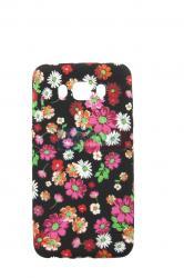 Чехол задник для Samsung J710 гель цветочный