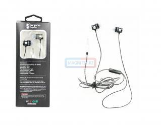 Наушники iPhone pc&pro RX-09  вакуумные с микрофоном