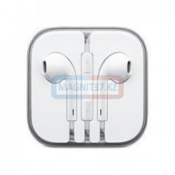 Наушники iPhone 7 Bluetooth не вакуумные с микрофоном