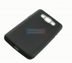 Чехол задник для Samsung S7 edge гель+серебряная вставка