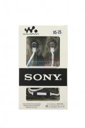 Наушники Sony XS25 вакуумные с микрофоном