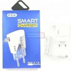 СЗУ microUSB PZX C832E Smart charger 2.1A