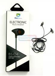 Наушники Electronic BS-04 вакуумные с микрофоном