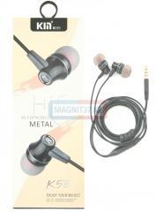 Наушники KIN K58 вакуумные с микрофоном