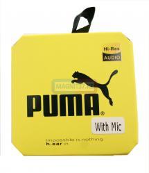 Наушники Puma M2 вакуумные с микрофоном
