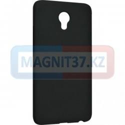 Чехол задник для Samsung J4(018)  гель черный матовый