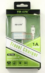 СЗУ microUSB TD-LTE T62  2в1 1 выход 1A