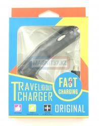 АЗУ microUSB Travel Charger Fast (цельное)