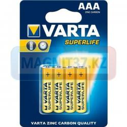 Батарейка Varta AAA (соль) Superlife