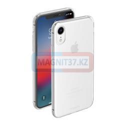 Чехол задник для iPhone XR гель прозр.