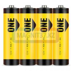 Батарея AA Smartbuy (соль) 2А04S-желтые
