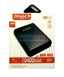 Зарядное Power Bank Demaco DKK-063 10400 mAh