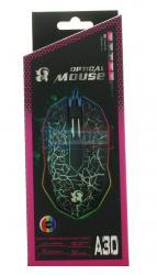 Мышь проводная Optical Mouse А30