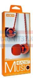 Наушники MoXom MH-13 вакуумные с микрофоном