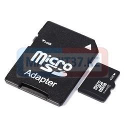 MicroSD BYZ 2GB с адаптером